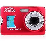 Andoer® CDFE HD Digital Camera 18MP 2.7 inch TFT 8x Zoom Smile Capture Anti-shake Video Camcorder