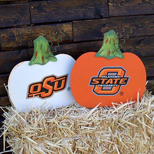 Oklahoma State Cowboys Pumpkin Door Decoration and Yard Sign