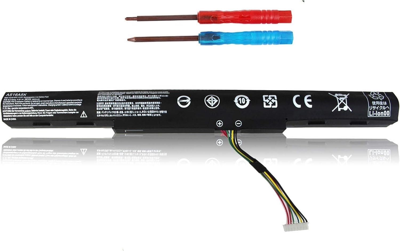 AS16A5K AS16A7K AS16A8K Laptop Battery Compatible with Acer Aspire E15 E5-475G E5-523 E5-553G E5-774 E5-575-33BM E5-575G-57D4 E5-575G-562T E5-576-392H E5-576G-5762 E5-774G-52W1 - Shareway
