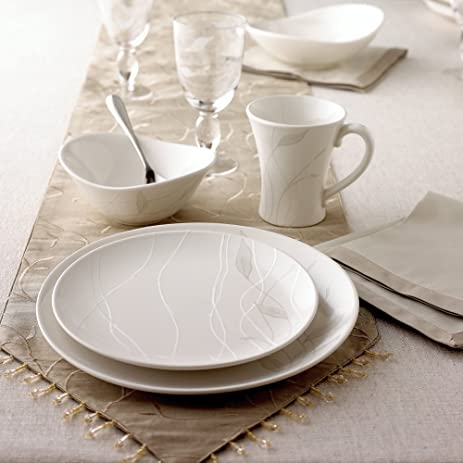 Pfaltzgraff Linea Tableware Collection & Amazon.com: Pfaltzgraff Linea Tableware Collection: Kitchen u0026 Dining