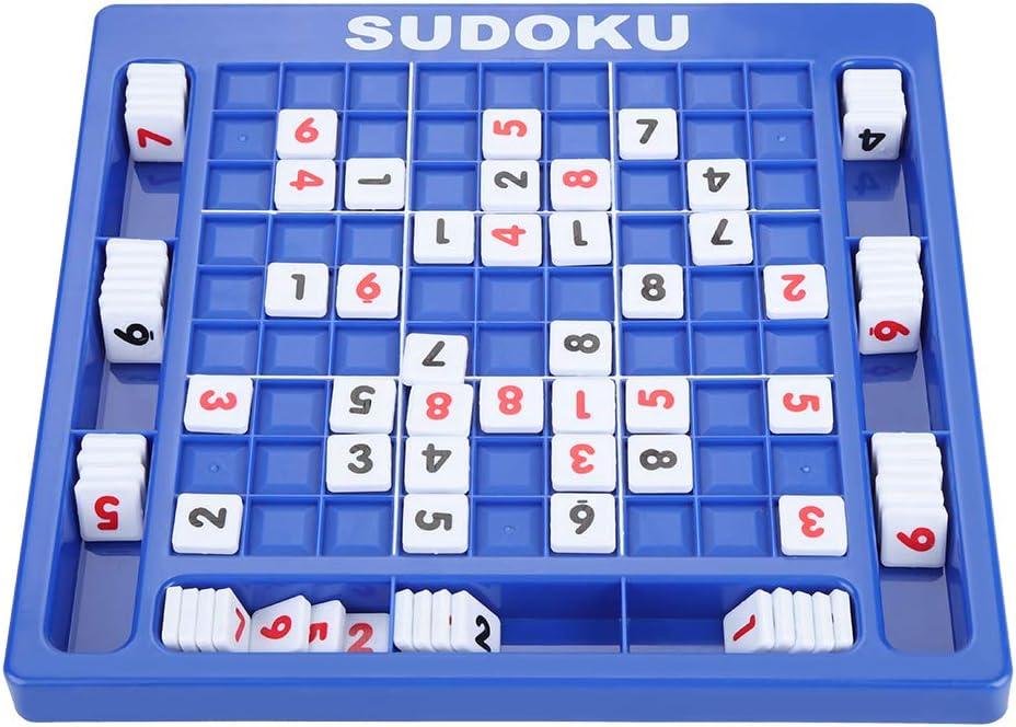 Garosa Sudoku Puzzle Toy Jigsaw Number Board Set Desktop Nine Grid Cube Aprendizaje de Juguetes Educativos Desarrollo de Juegos Intelectuales para Niños Adultos
