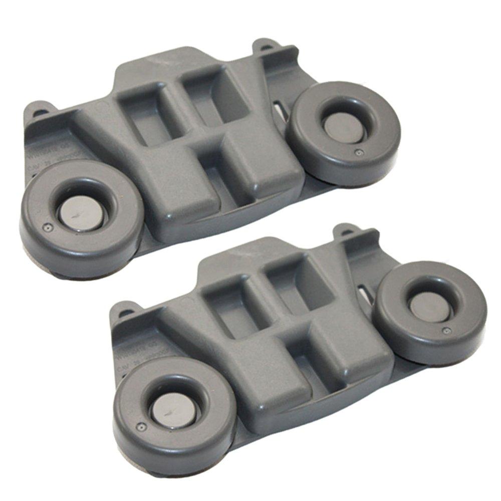 WPW10195417 Dishwasher Roller Rack Wheels for Whirlpool Jenn-Air Kenmore Kitchenaid Lower Rack AP6016764, PS11750057, W10195417, 1872128
