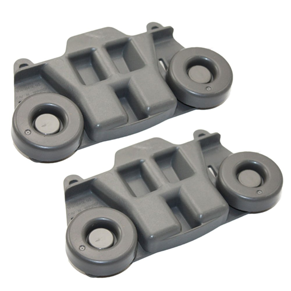 1872128 Dishwasher Roller Rack Wheels for Whirlpool Jenn-Air Kenmore Kitchenaid Lower Rack AP6016764, PS11750057, WPW10195417, W10195417