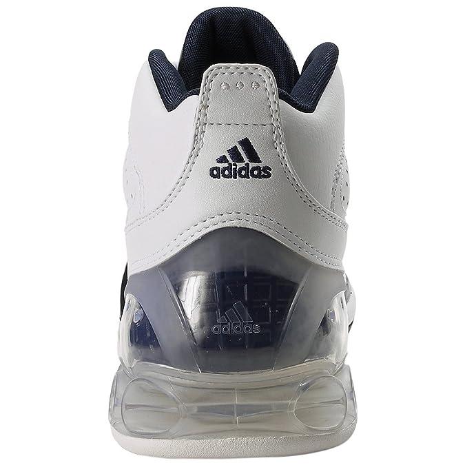Adidas hombre 's Bounce Artillery II Basketball zapatos White