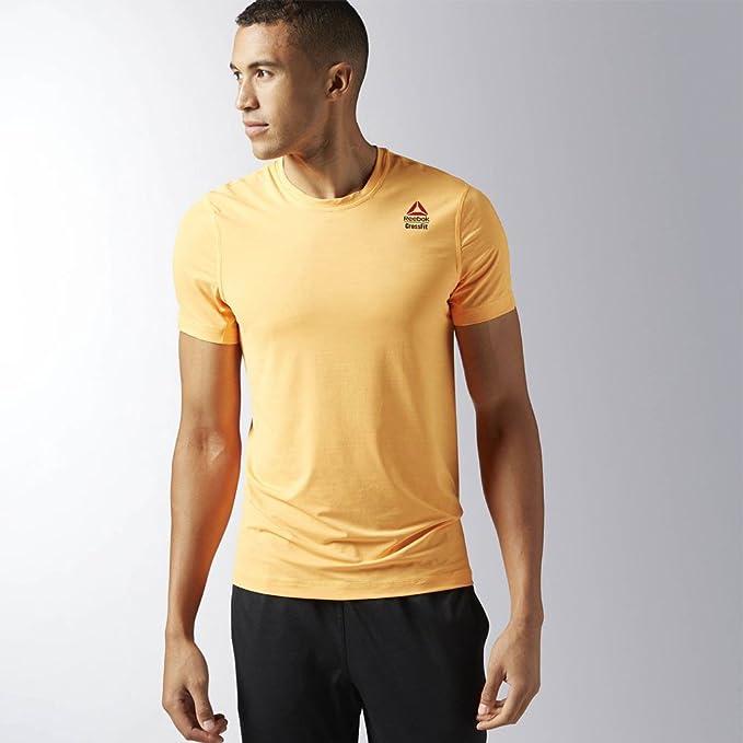 394c0fd3f Reebok Crossfit ACTIVCHILL T-Shirt - SS17  Amazon.es  Ropa y accesorios
