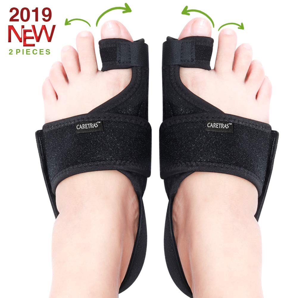 Caretras Adjustable Brace Support Unisex Fits for Right or Left Foot Plantar Fasciitis Night Splint Arch Support//Ankle Night Brace Effective Relieve Pain for Achilles Tendon Drop Foot