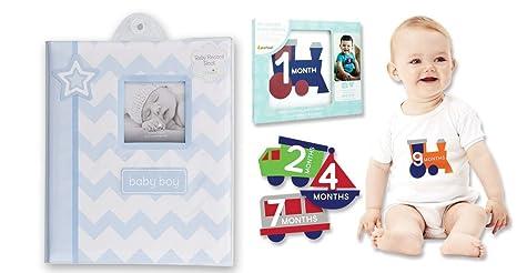Recuerdos Para Bautizo Con Foto Del Bebe.Libro De Recuerdos Para Bebe Y Pegatinas Para El Ombligo
