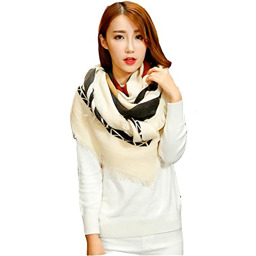 Sciarpa Donna Inverno , donna inverno scialle maglione cappotto Girl grandi Wrap Maglia Scialle Inve...