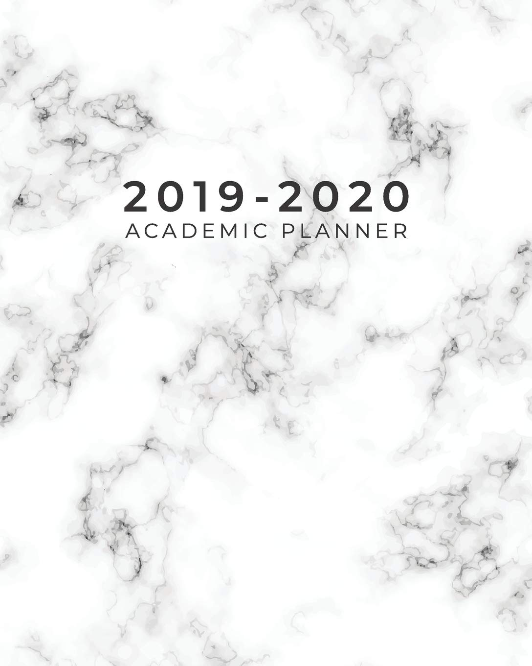 2019-2020 Academic Planner: Weekly and Monthly Planner ...