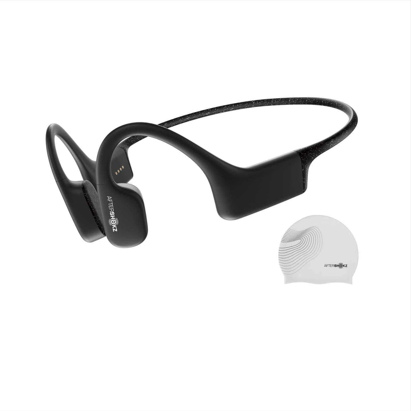 AfterShokz Xtrainerz Bluetooth Headphones For Biking bone conduction headphones is the best for the mountain and simple heavy biking