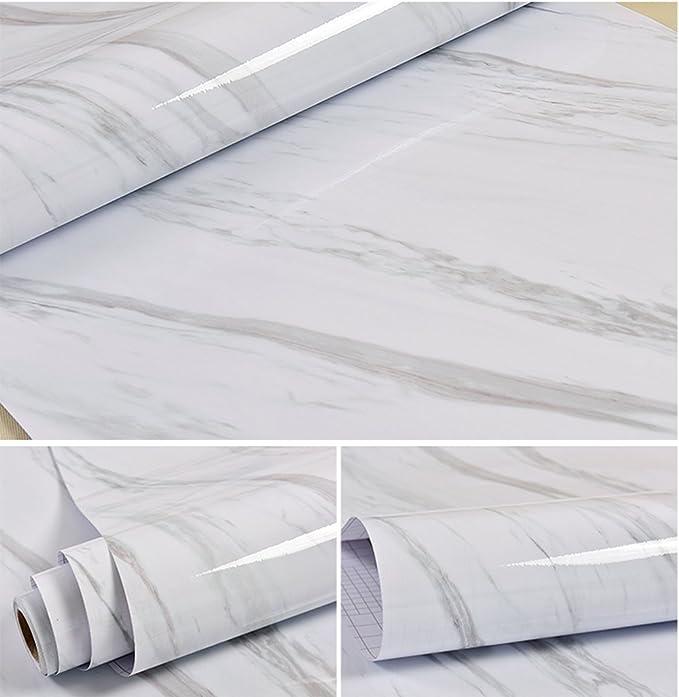 Selbstklebend Faux Granit Glanz Marmor Getreide Kontakt Papier für ...
