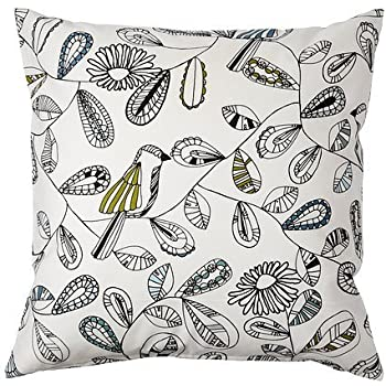 ikea cushion throw pillow cover snabbvinge home kitchen. Black Bedroom Furniture Sets. Home Design Ideas
