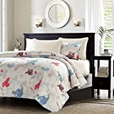 LOVO Nautical Adventure Quilted Throw Ultra Soft Comforter Queen 79