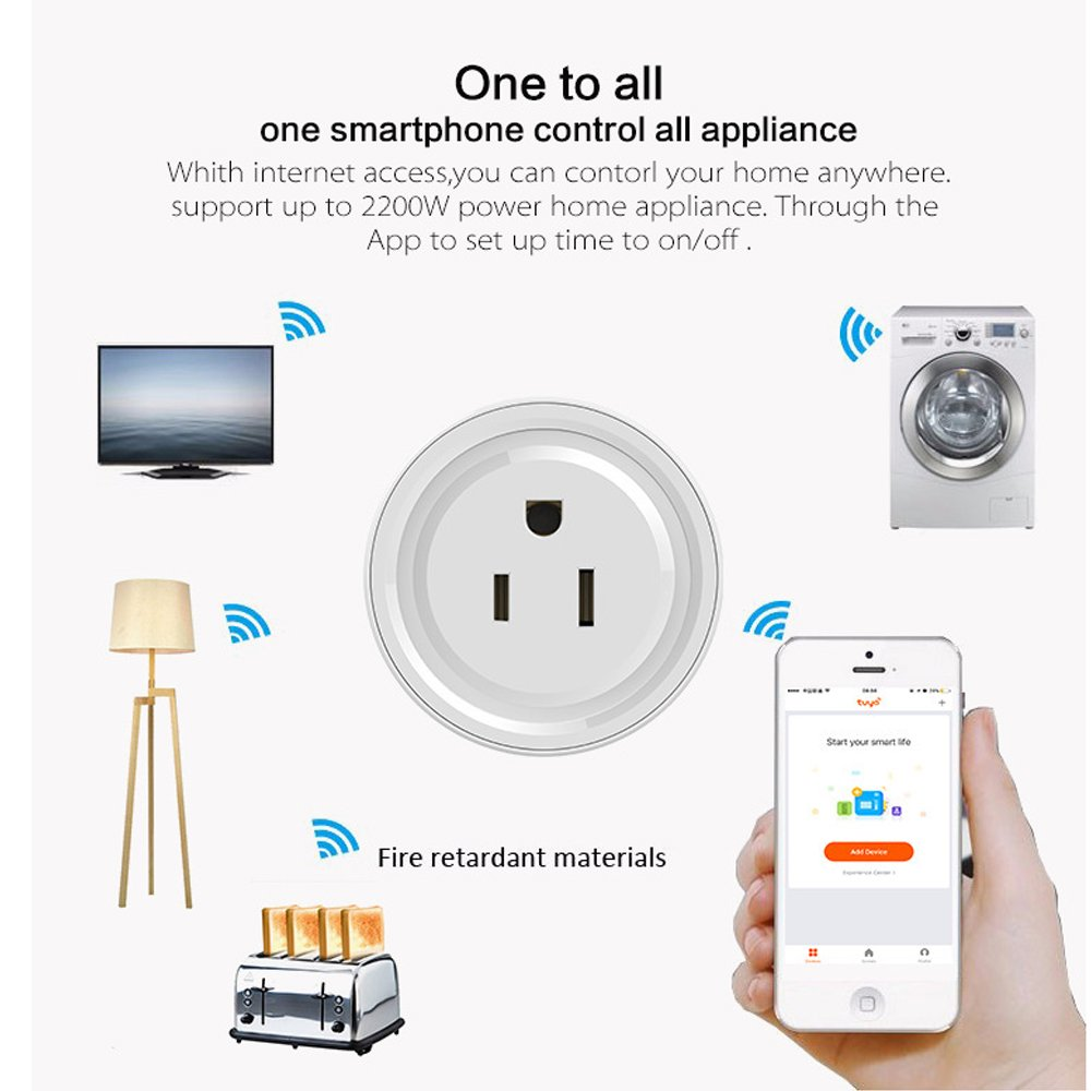 Smart Plug 3 Pack Wi Fi Mini Outlets Jinli Socket Compatible Can Your Electrical Protect Against A House Fire With Alexa And Google Assistant No Hub Required Timing Function Control Home Devices