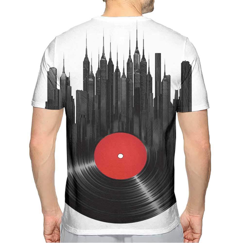 PRUNUS T-Shirt Funny Men Fashion Mens 3D Top Tees