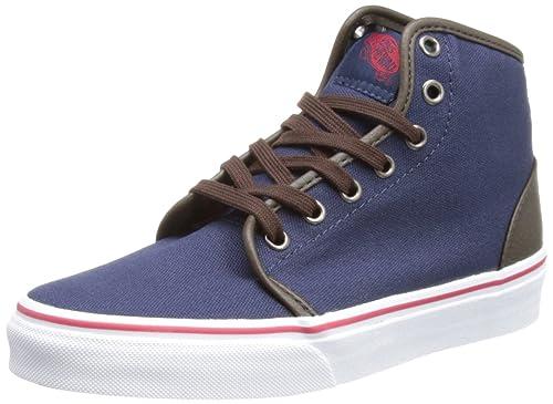Vans U 106 Hi VRQM8IE - Zapatillas de tela unisex, color azul, talla 38.5: Amazon.es: Zapatos y complementos