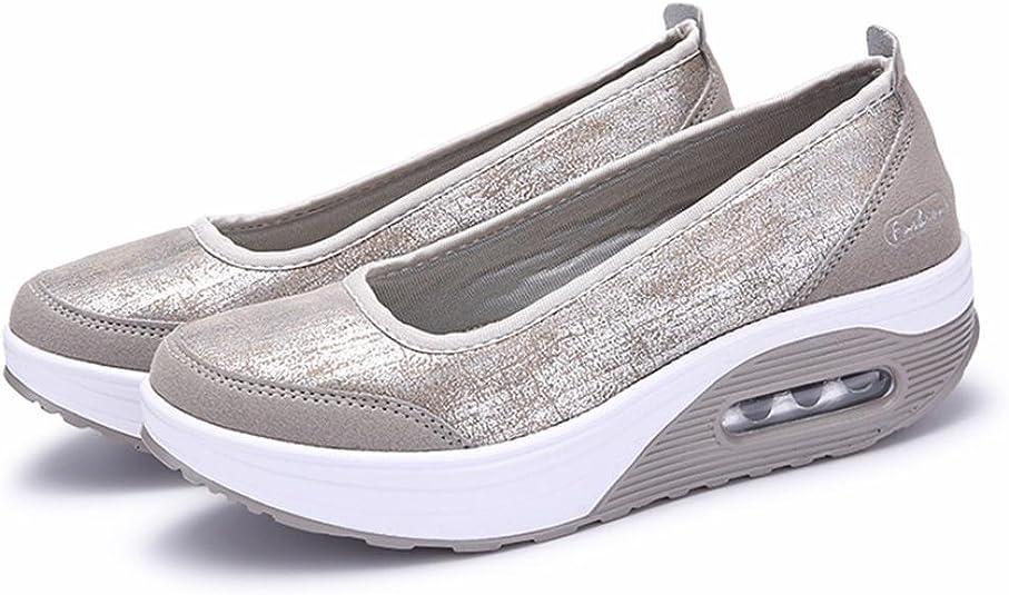 Overdose-Chaussures Baskets Compensées Lacets Paillettes Femme Trainers Platform Pas Cher Plates Soldes Été Automne…