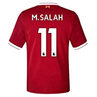 Roretor 17/18 M Salah 11 Liverpool Stadium Home Men's Color Red Size L Jersey