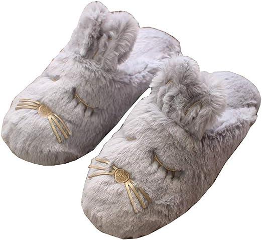Outflower. Zapatillas de Casa Mujer Zapatillas Conejo Lindo ...