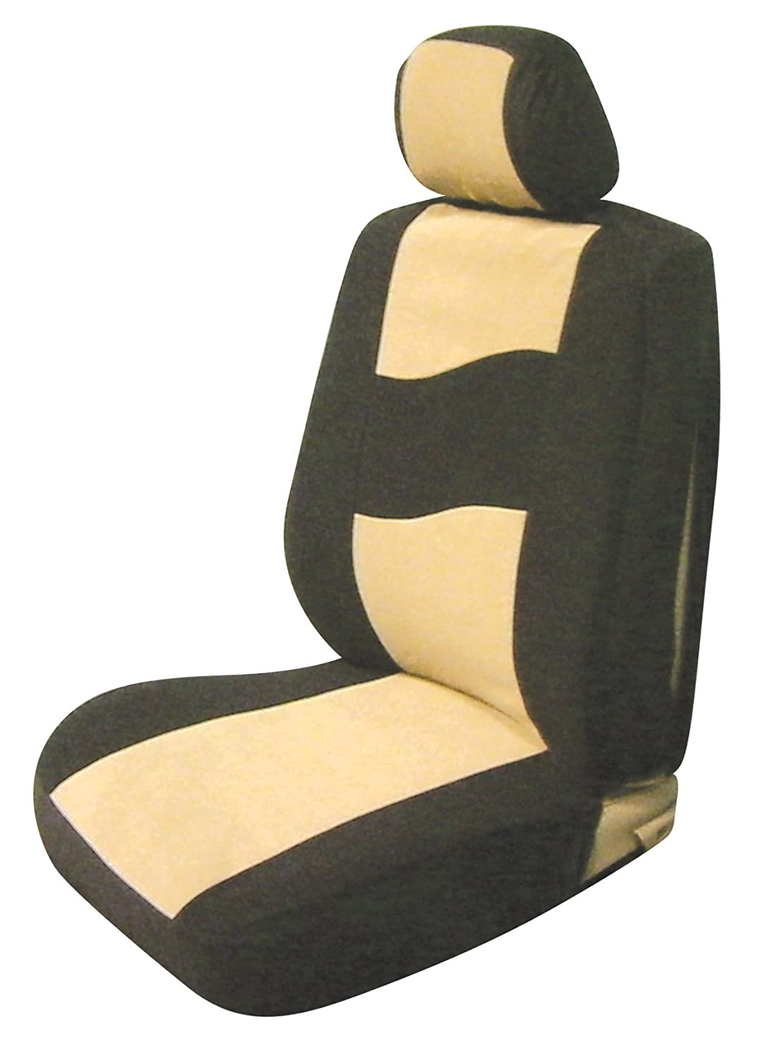 Pack of 2 Allison Corporation Allison 67-6893TAN Tan Side Air Bag Low Back Bucket Seat Cover