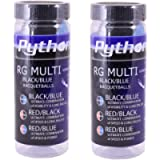 Python 3 Ball Can RG Multi Colored Racquetballs (Endorsed by Racquetball Legend Ruben Gonzalez!) (Red/Blue, Red/Black…