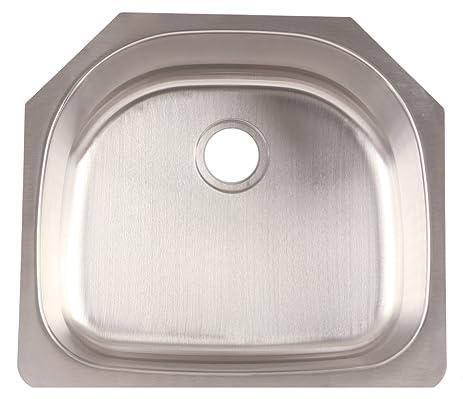 franke fsu117 stainless steel single bowl undermount kitchen sink  18g  9  inch franke fsu117 stainless steel single bowl undermount kitchen sink      rh   amazon com