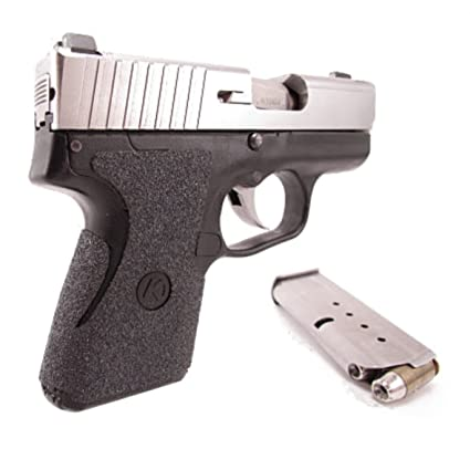 Talon Grip for Kahr Arms CM9, CM40, PM9, PM40 Black Rubber - 302R W/ Free  Sticker - Johnson Enterprises, LLC