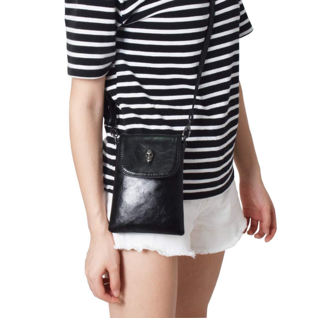 Women Single Shoulder Crossbody Bags Mini Messenger Bag Cellphone Bags Wallet