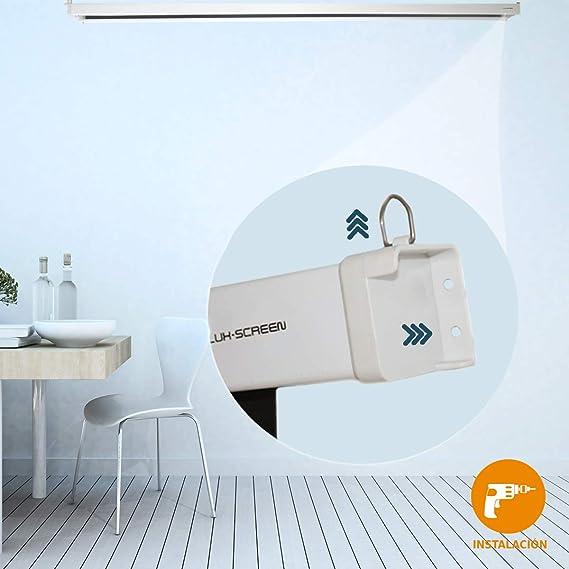 Pantalla de proyeccion electrica Luxscreen 100