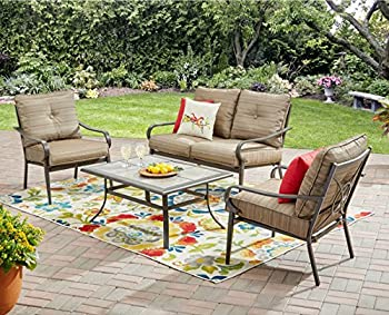 Mainstays Charleston Park 4-Piece Patio Set