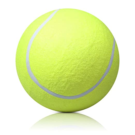 Pelota de tenis gigante de 24 cm para mascotas: Amazon.es: Hogar
