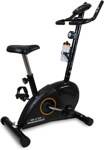 Tecnovita by BH EVO B2500A Bicicleta Estática, Unisex-Adult, Negro, Talla Única: Amazon.es: Deportes y aire libre