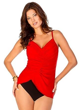 2c3870ccc0 Amazon.com: Magicsuit Solid Elle Top: Clothing