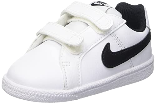 Nike Court Royale (TDV), Zapatos de recién Nacido Unisex bebé, Blanco (White/Black), 22 EU: Amazon.es: Zapatos y complementos