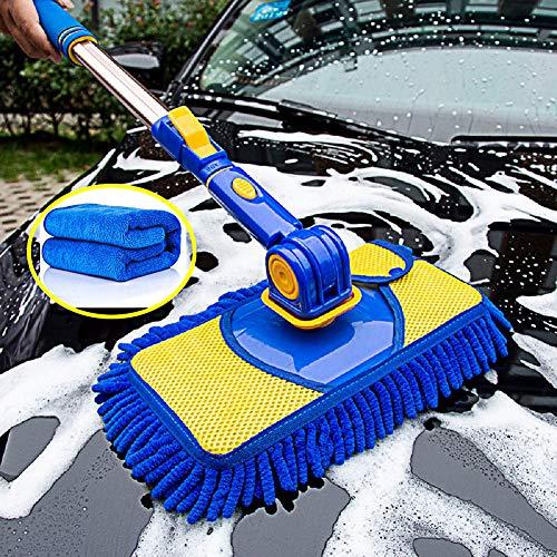 Car Wash Brush Kit Portable Car Washing Cleaning Mop 360°