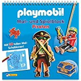 Playmobil Mal- und Spielblock Piraten: Mit 30 tollen Mal-Schablonen!