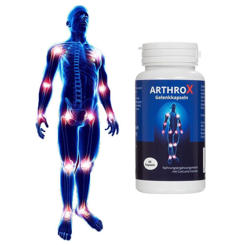 ARTHROX Gelenkkapseln | Gelenkschmerzen und Entzündungen durch Verschleiß im Alter, Überbelastung bei Sport