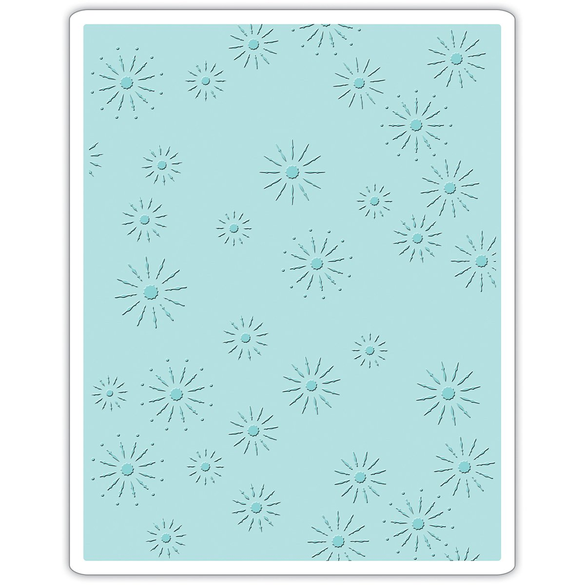 Sizzix 661001 Texture Fades Embossing Folder Sparkles by Tim Holtz