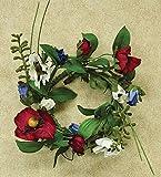 Heart of America Americana Poppy Ring 3-1/2