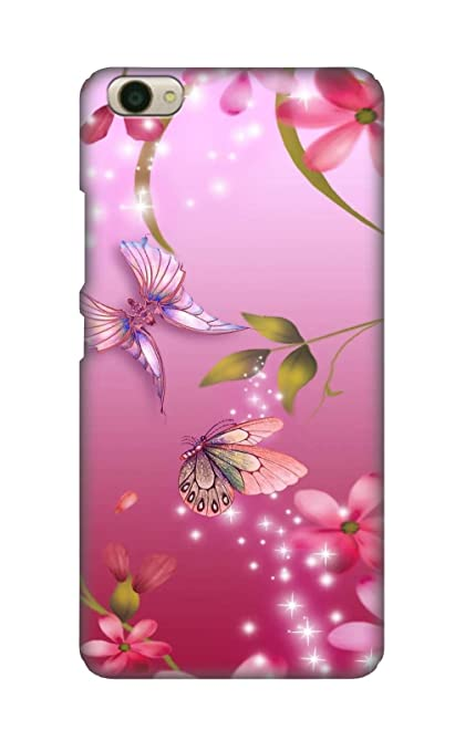 newest 0d76e b742c SWAG my CASE Printed Back Cover for Vivo Y55 (Multicolour)