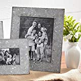 8 inch pie tin - Mud Pie Galvanized Tin Large Photo Frame 14