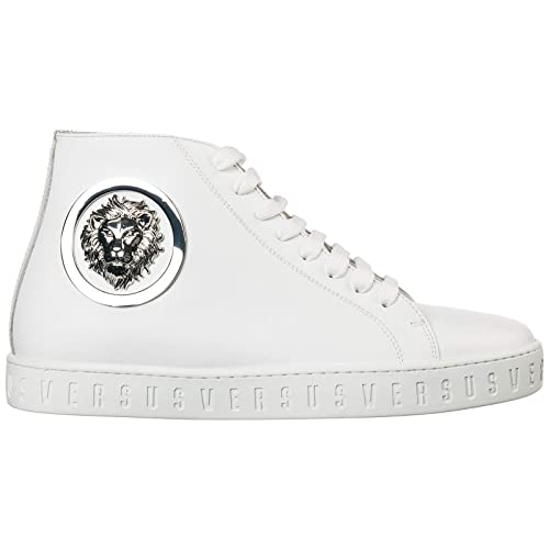Versus Versace Sneakers Alte Lion Head Uomo Optic White ...