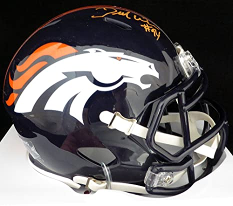 e6bbc5dab39 Amazon.com  DeMarcus Ware Autographed Denver Broncos   Super Bowl 50 Mini  Helmet PSA DNA  Sports Collectibles