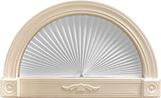 """product image for Original Arch Light Filtering Pleated Paper Shade White, 72"""" x 36"""""""