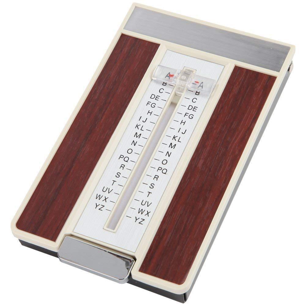 Great Ideas - Directorio Telefónico Retro Estilo Década de los 70 - Agenda de Direcciones de A a Z con Deslizador - Encuentra los Números de Teléfono ...