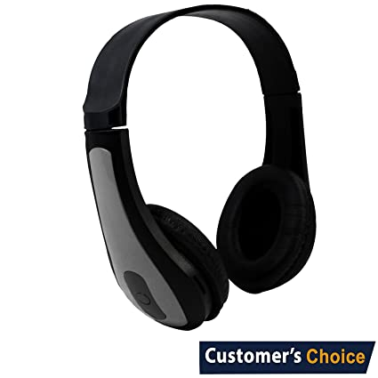 Audiology Carbon Wireless Bluetooth Headphones, Noise Cancelling Headphones, Hi-Fi Stereo Wireless Headset