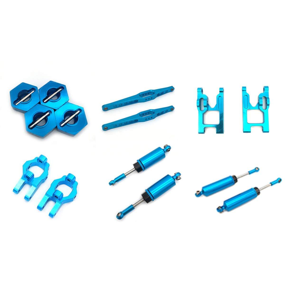 blau camellia Metall Hinterachse Haupttr/äger F/ür WLtoys 12428 12423 1//12 Geschwindigkeit RC Auto f/ür Feiyue FY-01//02//03//04//05 Upgrade Teile