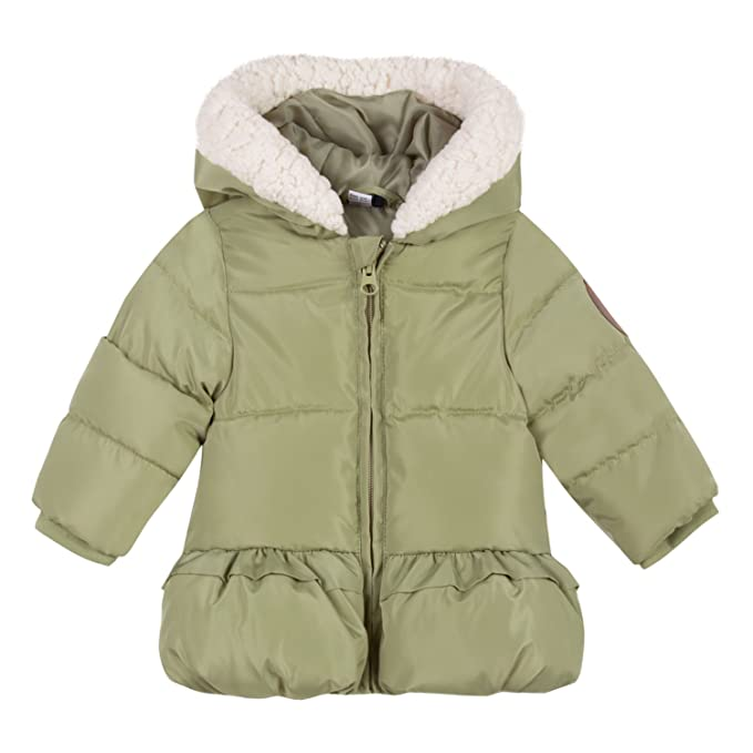 3 Pommes Coat 3M44012, Abrigo para Bebés, Verde (Light Green 52) 6