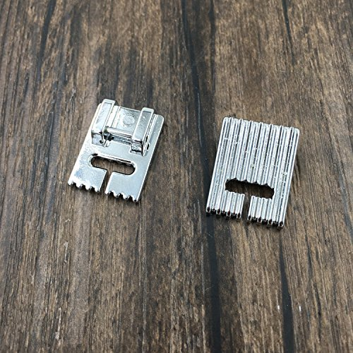 Groove Foot Pintuck 7 (Pintuck 7 Grooves Presser Foot for Household Electric Multi-Function Sewing Machine)