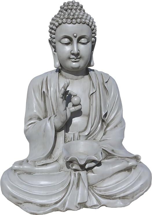 ARTESANIAROCA Buda de Piedra, para Jardín, Muy Decorativo. Buen ...